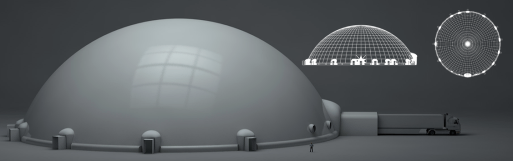 Largest Immersive Dome