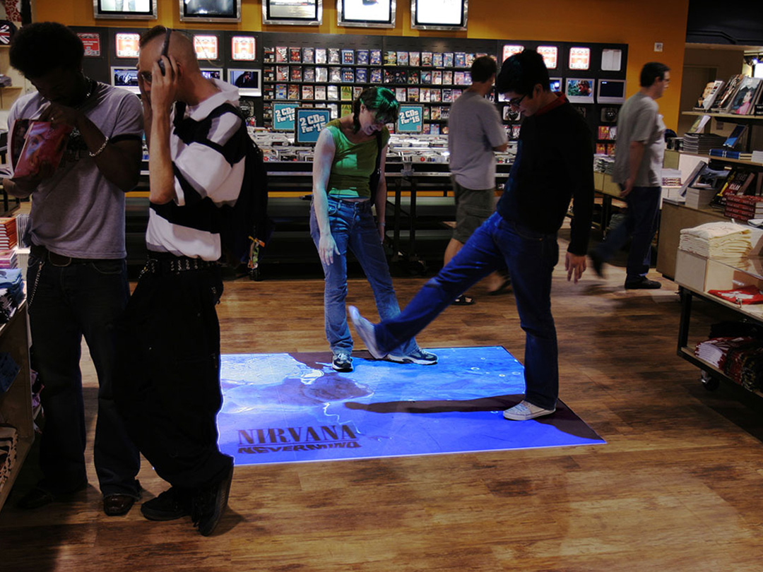 Interactive Surfaces for Events