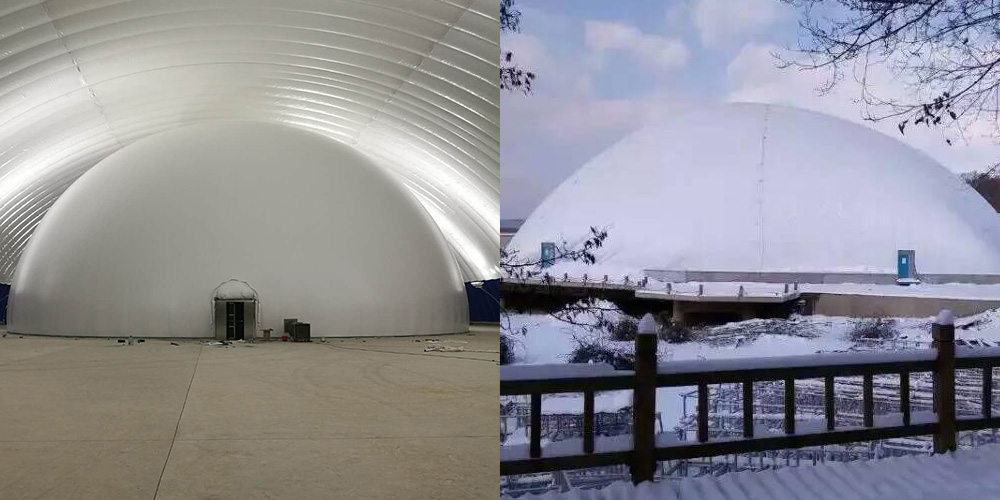 Inflatable 360 projection dome venues