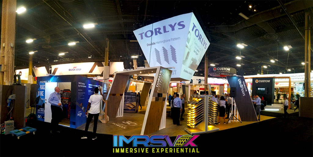 Trade Show Projection Mapping