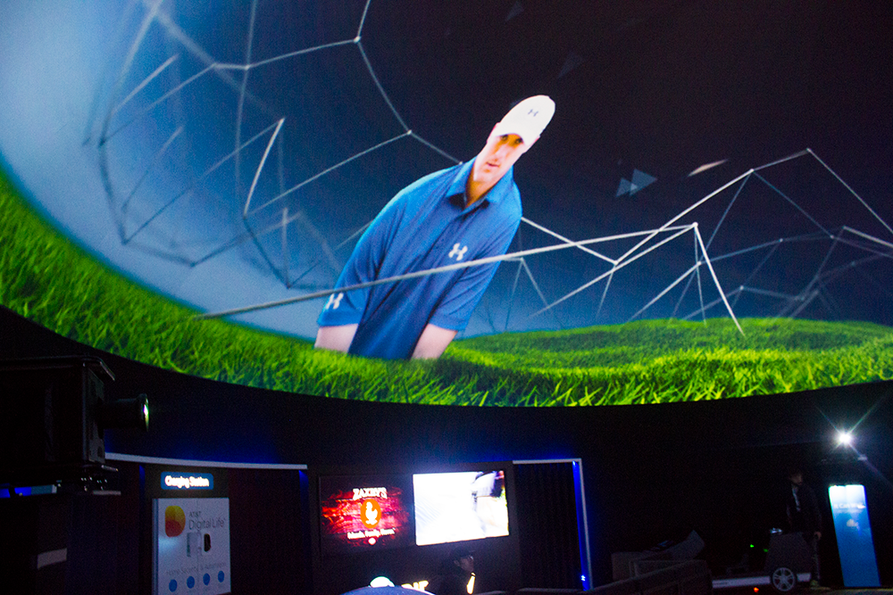 AT&T Projection Dome at Pebble Beach